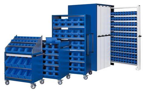 Die Apfel Schrank- und Wagenserie ? maximale Lagerkapazität, minimaler Platzbedarf