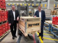 REYHER going for climate-friendly pallet covers