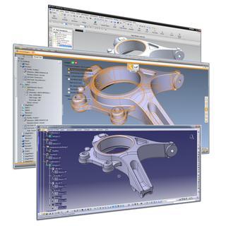 3D_Evolution ermöglicht auch die verlustfreie Konvertierung zwischen CATIA V5 und NX