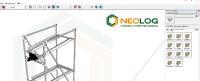 Eine Skizze reicht – NeoLog macht kostenlos einen Vorschlag und liefert einen Plan für die benötigten Betriebsausstattungen (Bildquelle: NeoLog)