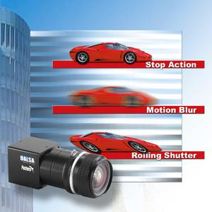 Stop Action Imaging: CMOS MegaPixel &  Interline Transfer CCD Cameras