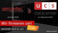 Umfirmierung abgeschlossen: sercontec ist jetzt ucs datacenter