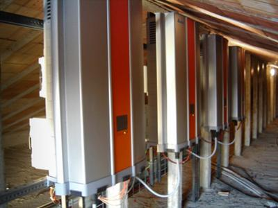 TL inverters installed at the Abbey of Santa Maria Incoronata in Fogg...