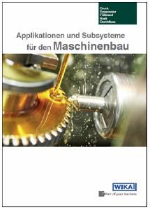 Broschüre für den Maschinenbau: Neuauflage mit mehr Lösungen