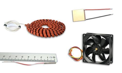 Diverse Bauteile von Telemeter Electronic für ein modernes Temperaturmanagement