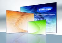 Public Information Displays von Samsung ab sofort von Distributor Display Solution AG