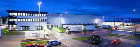 Firmengebäude der MEGA eg am Standort Hannover