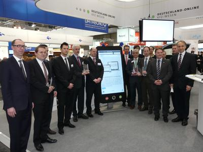Die Gewinner des eGovernment Computing App-Awards 2013 auf der CeBIT