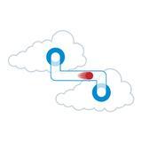 Dunkel Cloud Rohrpost