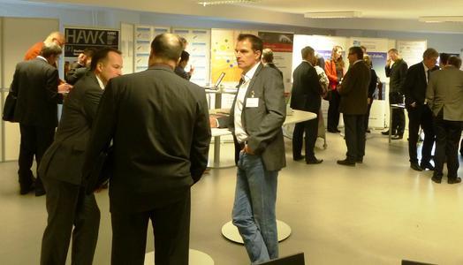 Informative Gespräche während des Industry Day © Landesinitiative Energiespeicher und -systeme Niedersachsen