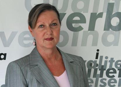 Sabine Pilz, die neue Niederlassungsleiterin der EJOT Baubefestigungen GmbH in Unna