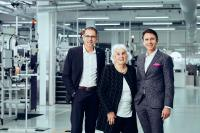Erika Kübler - senior boss of Kübler GmbH -  celebrates her 90th birthday