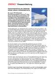 [PDF] Pressemitteilung:  Durchflussmessung mit Ultraschall schnell, präzise, kontaminationsfrei