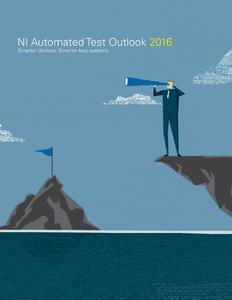 Der Automated Test Outlook von NI untermauert den Bedarf für intelligentere Prüfsysteme