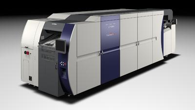 Screen adds board printing capability to B2 sheet-fed Truepress Jet SX inkjet for drupa