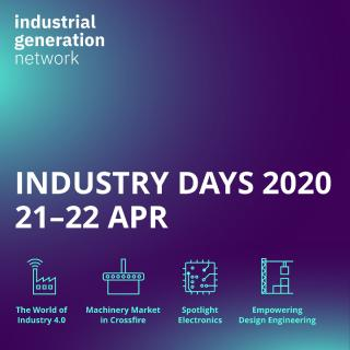 Digitales Event für die Industrie: Industry Days am 21./22. April 2020