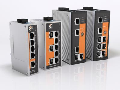 At SPS IPC Drives 2017, Lapp is presenting its own industrial Ethernet switches for the first time under the name ETHERLINE® ACCESS
