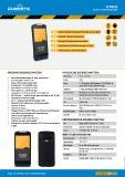 "WorkTab WT8005 - Robuster 5"" Handheld Mobilcomputer Datenblatt"