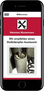 Die Werkstatt-App von KYB kann jetzt noch mehr.