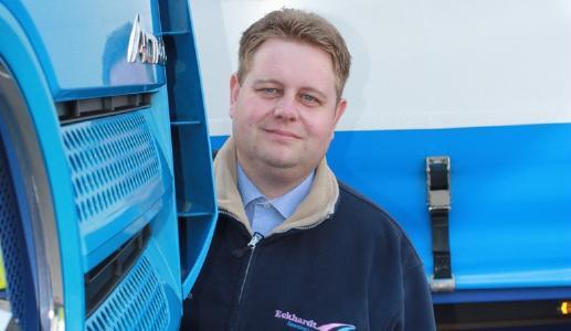 Marc Eckhardt, Geschäftsführer Walter Eckhardt GmbH  Spedition + Logistik