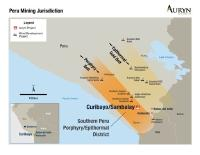 Auryn Commences Work on Curibaya in Southern Peru