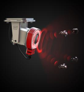 The DTEC-PRO camera system detects target positions and initiates automatic calibration when necessary (Source: LAP GmbH)