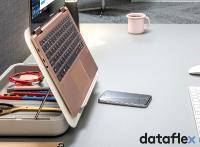 Dataflex Bento Tischset - Beispiel Home Office Schreibtisch
