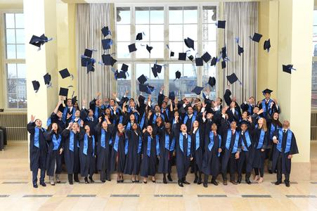 Graduation of ESMT students at ESMT
