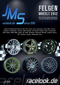 jms wheels catalog 2012 with about 450 different designs