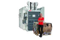 HSM Vertikale Ballenpresse V-Press 860 Times