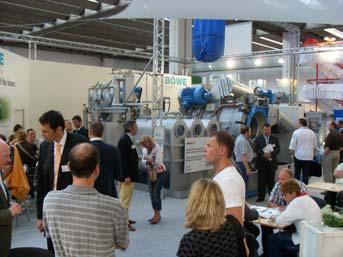 Texcare International 2008 - Eye-Catcher at the BÖWE Booth