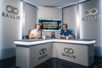 Markus und Andreas Baulig (v.l.) in ihrem neuen Studio in Koblenz