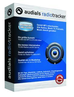 Perfekt nicht nur für den Mitschnitt aus dem Internet: Audials Radiotracker 9