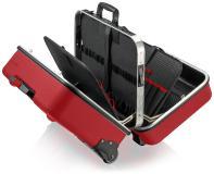 Das neue KNIPEX Koffersortiment Außen robust, innen geräumig - für jeden Einsatzort das passende Modell