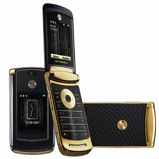 MOTORAZR² V8 Luxury Edition – Motorola präsentiert Sonderedition des RAZR²