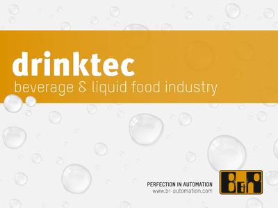 At the Munich drinktec 2013, B&R will present a comprehensive portfolio of products and solutions for the automation of machinery for the beverage and liquid food industry.
