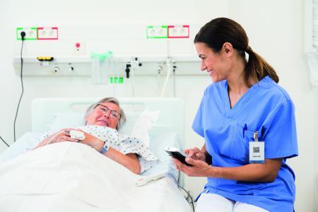 Produktivität und Kundenzufriedenheit effektiv steigern - Ascom Healthcare Lösungen