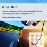 ams introduces first LIN slave companion IC to support automotive ISO26262 requirements