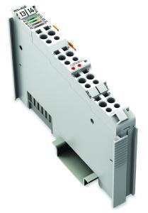 Mit dem neuen M-Bus-Master (753-649) zur Verbrauchsdatenerfassung lassen sich jeweils bis zu 40 M-Bus-Geräte direkt ans I/O-System anschließen – ohne externe Gateways und Pegelwandler