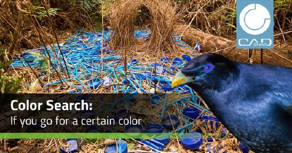 Entra in gioco il colore! Trova i componenti con la Ricerca per Colore di PARTsolutions
