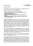 [PDF] Pressemitteilung: NanoFocus AG gibt vorläufige Kennzahlen 2009 bekannt