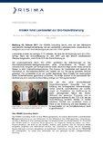 [PDF] Pressemitteilung: RISIMA führt LambdaNet zur ISO-Rezertifizierung