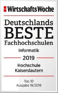 WiWo Beste Fachhochschulen 2019 Hochschule Kaiserslautern