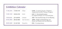 Ehibition Calendar
