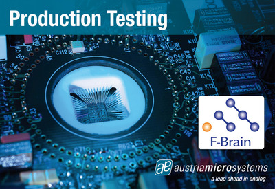 austriamicrosystems collaborates with F-Brain to serve Foundry customers on backend test solutions in Japan
