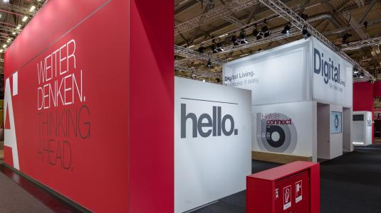 KECK for Häfele at Interzum 2019, concept: BRUCE B.