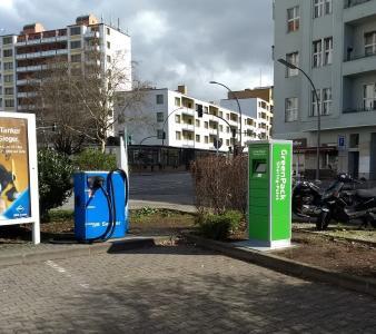 GreenPack Sharing Point Aral Dudenstr. / Copyright: GreenPack GmbH
