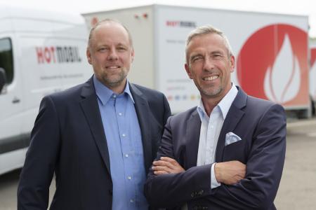 Das neue HOTMOBIL-Führungsduo: Rainer Notter (links) und Bernd Becherer (rechts), Bildquelle: Hotmobil Deutschland GmbH