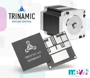 TMC5161: Hochkompakter und leistungsstarker cDriver™ IC