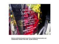 Damovo ist Cisco Unified Communication and Collaboration Partner of the Year